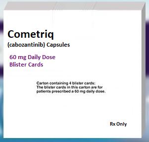 Cometriq for thyroid cancer
