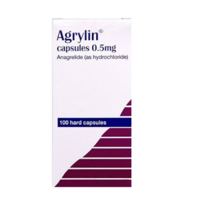 agrylin side effects uses